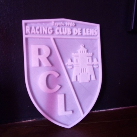 STL Rc Lens badge, guillaumeracine59