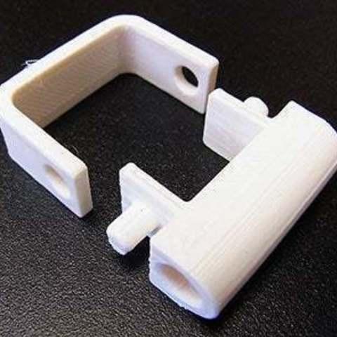 parts_display_large.jpg Télécharger fichier STL gratuit Support de tube guide de filament - Réplicateur 2 • Modèle à imprimer en 3D, Muzz64