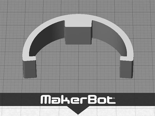 5Gspool_display_large.jpg Download free STL file Replicator 2 Spool Spacer - for MakerBot 900gm Spools • 3D printable design, Muzz64
