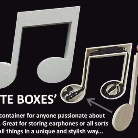 Download free STL 'Note Box', Muzz64