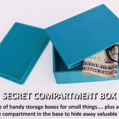 Télécharger modèle 3D gratuit Boîte'Compartiment secret, Muzz64