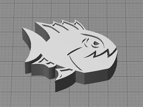 fish_1_display_large.jpg Download free STL file Angry Fish • Object to 3D print, Muzz64