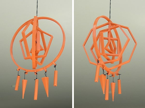 orange_display_large.jpg Download free STL file 3D Dream / Idea Catcher - Catch great 3D ideas while you sleep! • 3D print model, Muzz64