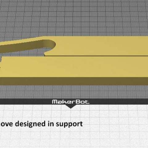 desktop_display_large.jpg Télécharger fichier STL gratuit Support à vélo - 2 pièces pour utilisation sur route • Objet à imprimer en 3D, Muzz64