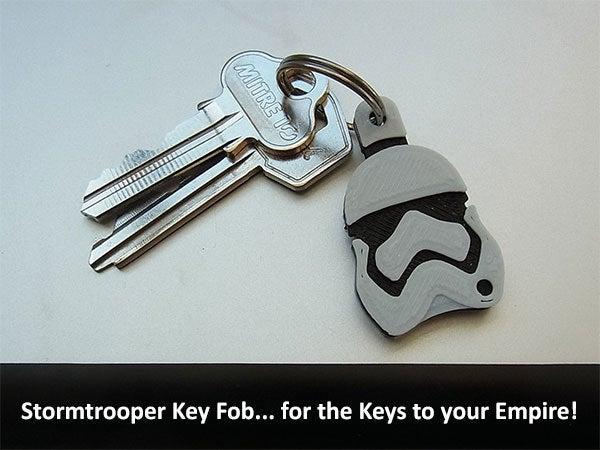 key_fob_display_large.jpg Télécharger fichier STL gratuit Porte-clés Stormtrooper • Design pour imprimante 3D, Muzz64