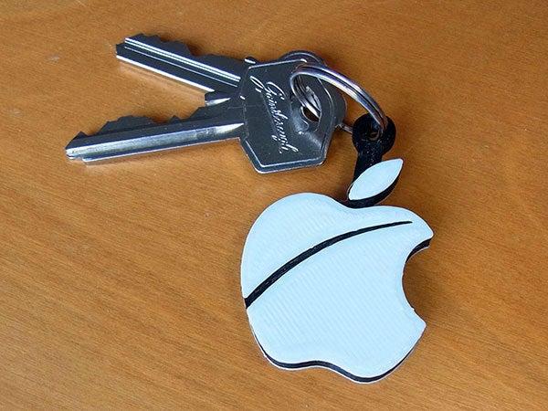 apple-fob_display_large.jpg Télécharger fichier STL gratuit Porte-clés pomme.... Le must have'Apple Logo' en forme de porte-clés pour Apple / iPhone / iPhone / iPad Fans • Design pour imprimante 3D, Muzz64