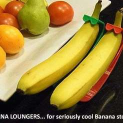 51132d4d8553cd9a1c092ba8248d2337_display_large.jpg Download free STL file Banana Loungers • 3D printer object, Muzz64