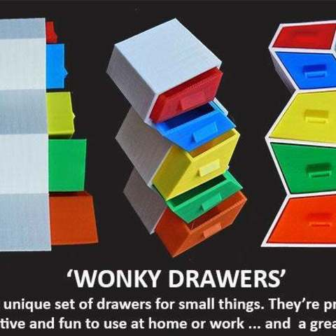 Download free 3D printing models Wonky Drawers, Muzz64
