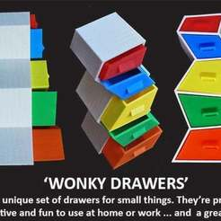 Download free 3D printing models Wonky Drawers, Muzz64