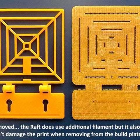 raft_2_display_large.jpg Télécharger fichier STL gratuit Cible à ressort pour s'amuser avec le pistolet NERF ! • Modèle pour imprimante 3D, Muzz64