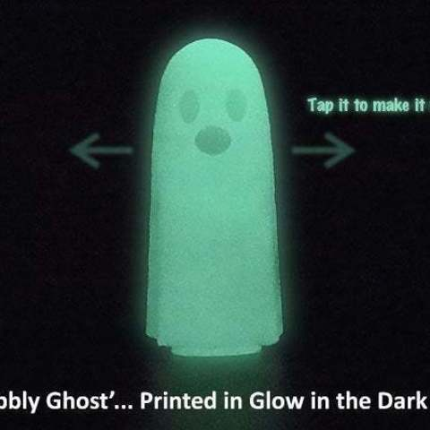 wobble_display_large.jpg Download free STL file Wobbly Ghosts! • 3D print model, Muzz64