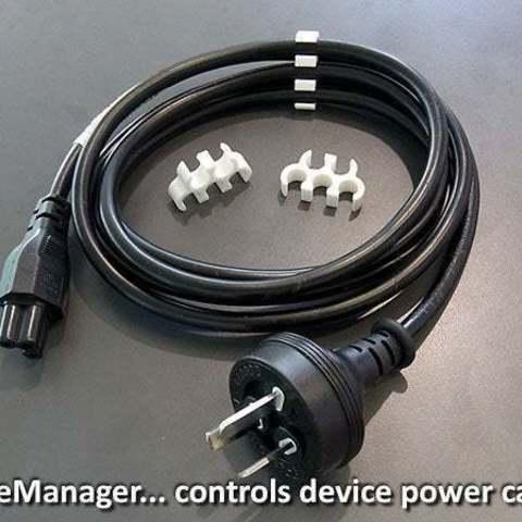 Descargar modelos 3D gratis CableManager, Muzz64