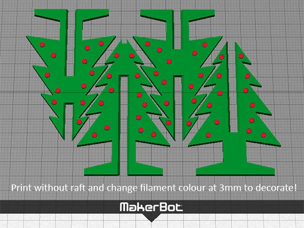decorate_display_large.jpg Download free STL file Christmas Tree - Your own personal mini 3D printed Christmas tree with coloured decorations! • Object to 3D print, Muzz64