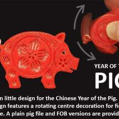d806cd6c31a08c00e8238686379961fb_display_large.jpg Download free STL file Year of the Pig • Object to 3D print, Muzz64