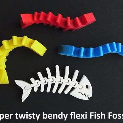 7015fc144670a347513ca1dcd15c36aa_display_large.jpg Download free STL file Fish Fossilz • 3D printing template, Muzz64