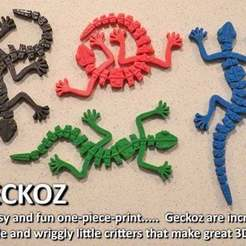 Download free 3D printer designs Geckoz, Muzz64