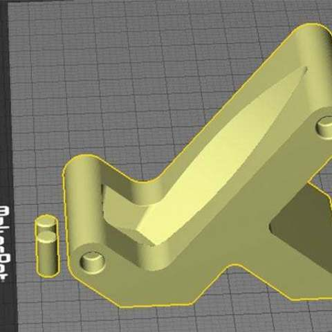 desktop_2_display_large.jpg Download free STL file Banana Stand - A unique, fun and expandable way to store Bananas! • 3D printable object, Muzz64