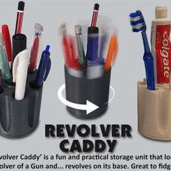 Download free 3D printing files Revolver Caddy, Muzz64