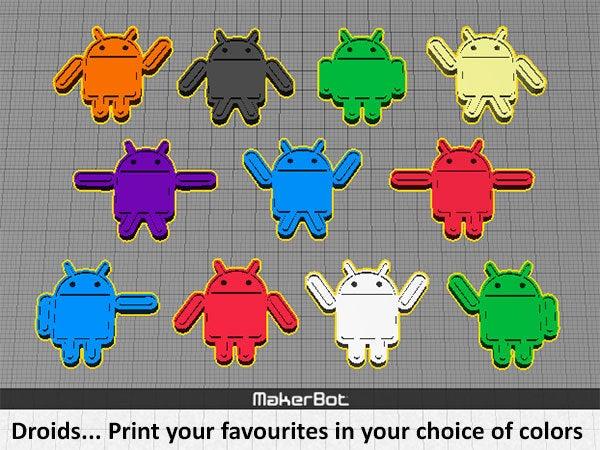 droids_display_large.jpg Download free STL file Droids • 3D printable template, Muzz64