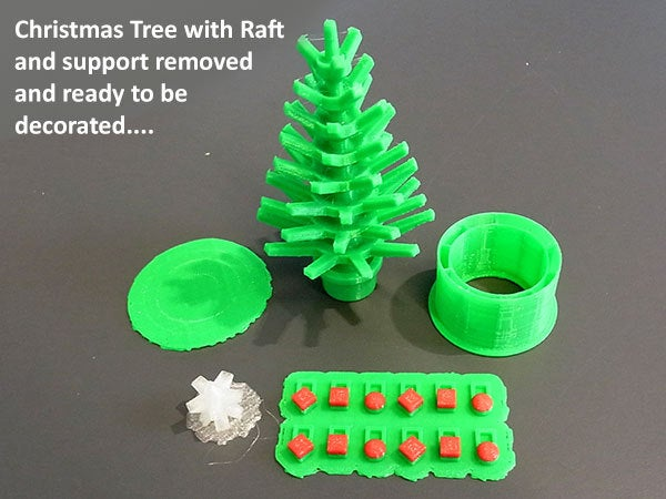 ready_display_large.jpg Download free STL file Mini Christmas Tree with hook on Decorations! • Design to 3D print, Muzz64