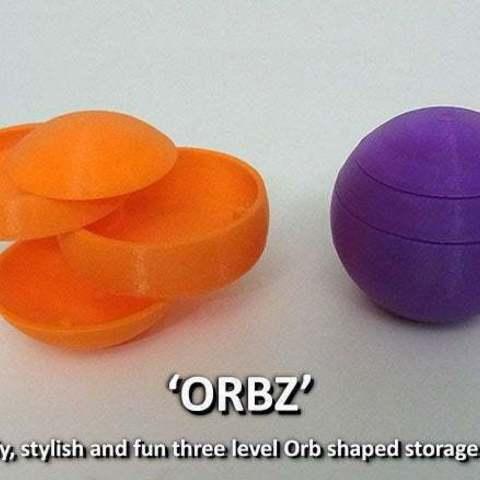 Download free 3D printer files ORBZ -  A mutli-layerd orb shaped storage solution, Muzz64