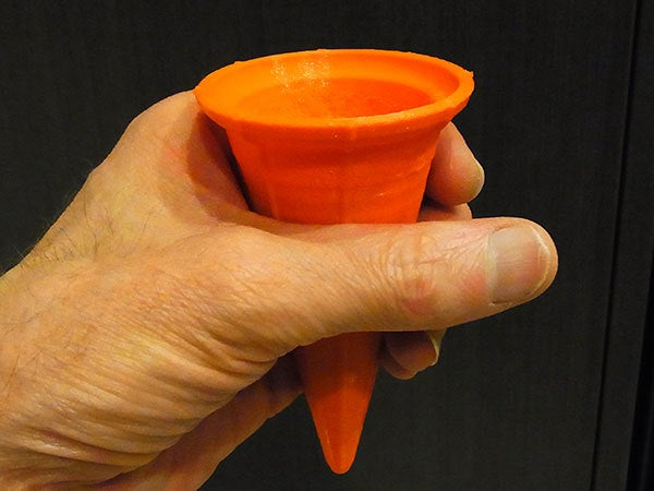cone_display_large.jpg Download free STL file Ice Cream Cone - Just like a regular cone but reusable! • 3D print design, Muzz64