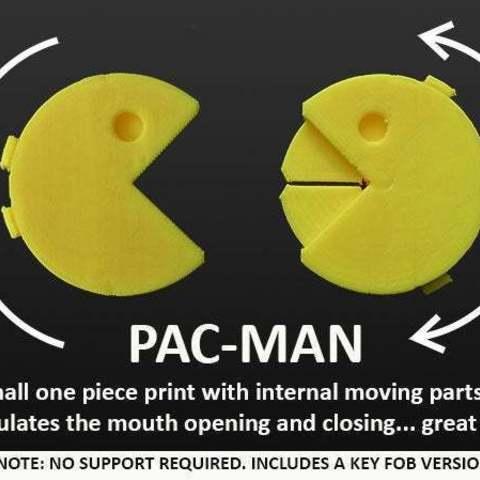 Descargar STL gratis Pac-Man, Muzz64
