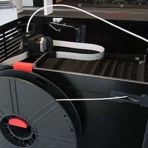 Impresiones 3D gratis Z18 Soporte de bobina de montaje lateral, Muzz64