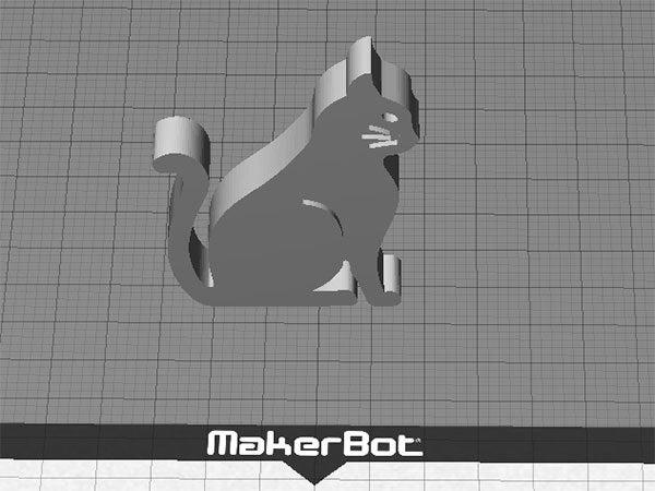 cat-2_display_large.jpg Télécharger fichier STL gratuit Chat - Assis avec des moustaches (rainures fraisées) • Plan imprimable en 3D, Muzz64