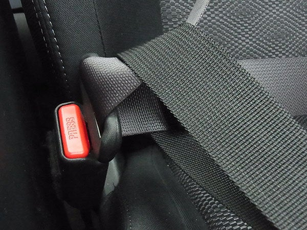 fitted_3_display_large.jpg Download free STL file Car Bag Restraint - Stops your bag flying forward in your car • Design to 3D print, Muzz64