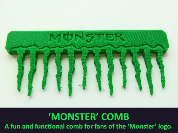 e1498dbe7d2b398b264df8e975e5ed7d_display_large.jpg Télécharger fichier STL gratuit Peigne'Monstre • Design à imprimer en 3D, Muzz64
