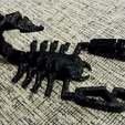 Descargar diseños 3D gratis Scorpionz... con Cola Giratoria y Pinzas que Cortan!, Muzz64