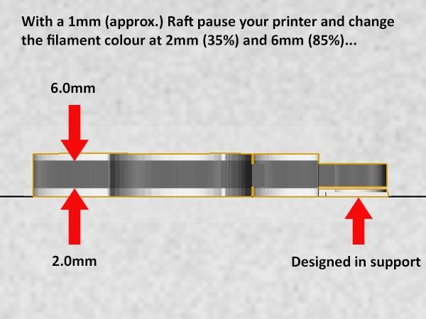 colours_display_large.jpg Télécharger fichier STL gratuit Porte-clés pomme.... Le must have'Apple Logo' en forme de porte-clés pour Apple / iPhone / iPhone / iPad Fans • Design pour imprimante 3D, Muzz64