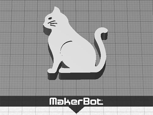 cat-3_display_large.jpg Download free STL file Cat - Sitting with Whiskers (Countersunk Grooves) • Template to 3D print, Muzz64