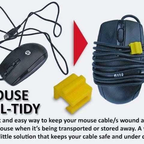 Imprimir en 3D gratis Mouse Tail-Tidy, Muzz64