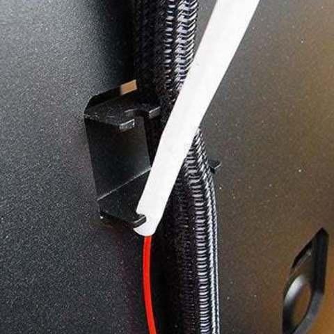std_display_large.jpg Télécharger fichier STL gratuit Support de tube guide de filament - Réplicateur 2 • Modèle à imprimer en 3D, Muzz64