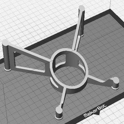 print_3_display_large.jpg Download free STL file Tablet Stand - Modern style iPad / Tablet stand for use on a desk • 3D printing object, Muzz64