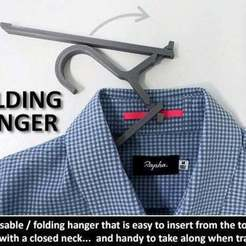 Download free 3D print files Folding Hanger, Muzz64