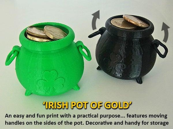 052b8df3a7d7f2f677eaf553e9161d30_display_large.jpg Download free STL file Irish Pot of Gold • 3D printing object, Muzz64