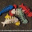 4fe72e9f85a95eb9a9b1811d1c360785_display_large.jpg Download free STL file Fish Fossilz • 3D printing template, Muzz64