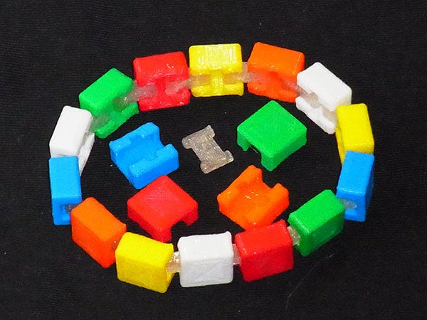 colours_2_display_large.jpg Télécharger fichier STL gratuit Bracelet personnalisable - Choisissez vos propres couleurs, imprimez-les et portez-les ensemble ! • Objet imprimable en 3D, Muzz64