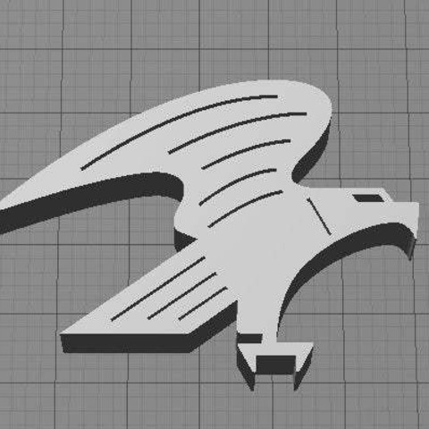Download free STL file Eagle • 3D printable object, Muzz64