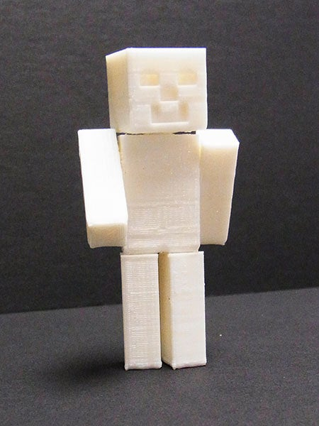 mc_02_display_large.jpg Download free STL file Minecraft Steve - One piece print with moving head/arms/legs! • 3D printing object, Muzz64