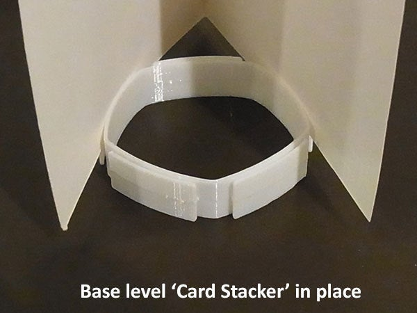 base_display_large.jpg Download free STL file 'Card Stacker'... stacks your greeting cards! • Template to 3D print, Muzz64