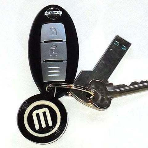 Download free STL file Rotating Key Chain / Fob... with spinning MakerBot Logo!, Muzz64