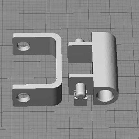 R2-FG-Retainer_display_large.jpg Télécharger fichier STL gratuit Support de tube guide de filament - Réplicateur 2 • Modèle à imprimer en 3D, Muzz64