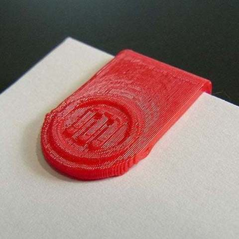 Download free STL file 'Maker Clips'... Paper Clips / Mini Bookmarks for MakerBot users, Muzz64