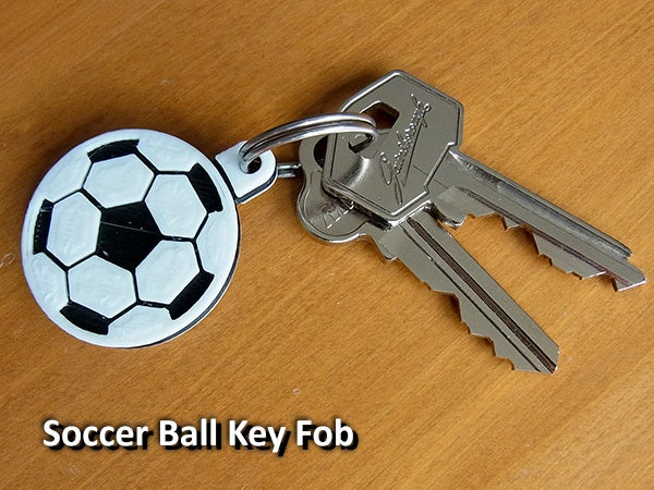 soccer_fob_display_large.jpg Download free STL file Soccer Ball / Football Key Fob • 3D printable design, Muzz64