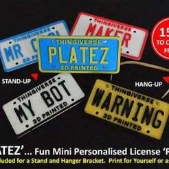 Télécharger fichier STL gratuit PLATEZ, Muzz64