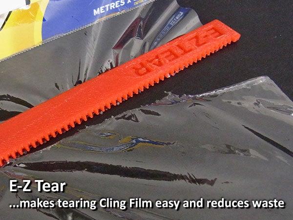 122b9bb868f7d9f1df9fc24582ef809f_display_large.jpg Download free STL file E-Z Tear - Cling Film Tearing Tool • 3D print template, Muzz64